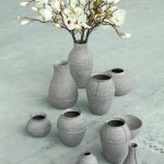 Debbie Wijskamp for Serax Paperpulp Vases recycked paper © Laurene King Publishing