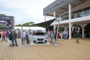 JLR and the new Jaguar XF at Goodwood Festival of Speed