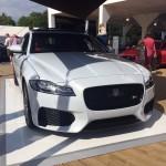 JLR and new Jaguar XF at Goodwood