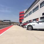Jaguar XF at Circuito de Navarra