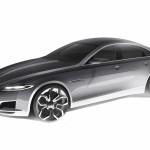 Jaguar XF sketch