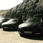 Jaguar XF in Navarran Pyrenees