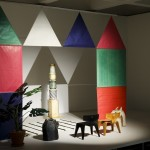 The World of Charles and Ray Eames, Installation view of tableau with The Toy and plywood children's furniture, Barbican Art Gallery, London 21 October 2015 – 14 February 2016 © Tristan Fewings/ Getty Images
