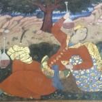 Esfahan Chel-Sotun Palace, scenes from ghahve-khaneh © Design Talks