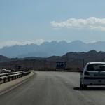 Cutting through Dasht-e-Kavir from Tehran to Esfahan