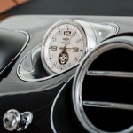 Customers can specify a bespoke Breitling mechanical Mulliner Tourbillon clock that automatically winds periodically by a dedicated high-precision mechanism within the car