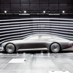 "Mercedes-Benz Concept IAA"" (Intelligent Aerodynamic Automobile"