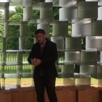 Bjarke Ingels in the 2016 Serpentine Pavilion © Design Talks