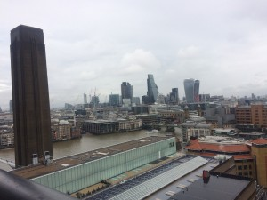 Views from the top of Switch House Tate Modern © Design Talks