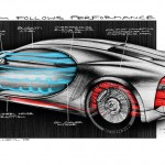 Bugatti Chiron's design follows closely form follows performance