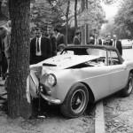 LA VOITURE ACCIDENTEE DE PORFIRIO RUBIROSA 1965