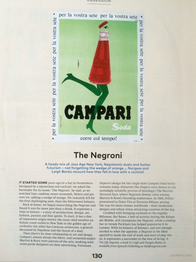 This is The Life Negroni,