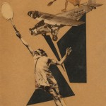 Piotr Galadshev, Female Tennis Player 1924, Paper collage ©Alex Lachmann Collection, London