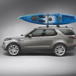 Land Rover Discovery Canoe as part of the accessories range