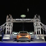 Land Rover unveiling the new Discovery at the world's largest Lego structure