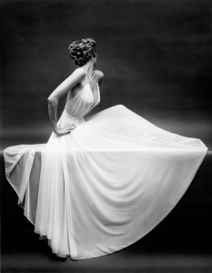 Vanity Fair Sheer Grown Icon, New York, ca.1950 – One of Mark Shaw's favorite photographs, this Vanity Fair slip was photographed by Mark Shaw for an award winning ad campaign © Mark Shaw / mptvimages.com