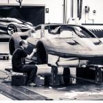 Clay Model of the Ferrari J50, car released in 2016 © Museo Ferrari