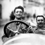 Enzo Ferrari at the Targa Florio in 1920. - The car is an Alfa Romeo 40-60 HP Racing Type © Museo Ferrari