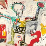 Jean-Michel Basquiat, Untitled 1982, Courtesy Museum Boijmans Van Beuningen, Rotterdam. © The Estate of Jean-Michel Basquiat. Licensed by Artestar, New York. Photo Studio Tromp, Rotterdam