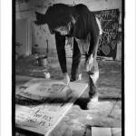 Jean-Michel Basquiat painting, 1983, © Roland Hagenberg