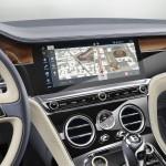 New Continental GT rotating display