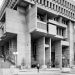 Kallmann McKinnell & Knowles, Campbell, Aldrich & Nulty: Boston City Hall, Boston, Massachusetts, US, 1962–1969. Photo © Bill Lebovic 1981