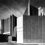 Warren & Mahoney: Christchurch Town Hall, Christchurch, New Zealand, 1972. Photo © Warren & Mahoney, c. 1972