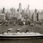 Normandie, NY 1935/39 Collection French Lines © V&A Ocean Liners: Speed & Style