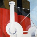 Paquebot Paris Charles Demuth US 1921/22. Gift of Ferdinand Howald Columbus Museum of Art Ohio © V&A Ocean Liners: Speed & Style