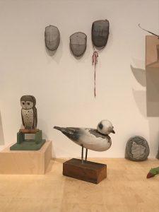 Joan Jonas props as sculpture