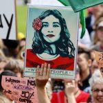 Women's March, Wellington, NZ, credit Andy McArthur