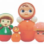 Anton, Masha and Grib Nevalyashka roly-poly dolls, 1956-70s. Picture credit: courtesy and copyright © Moscow Design Museum