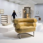 Modern Couples: Art, Intimacy and the Avant-garde Installation view featuring Eileen Gray and Jean Badovici Barbican Art Gallery 10 October 2018 – 27 January 2019 © John Phillips / Getty Images