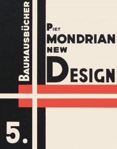 Images © Lars Müller, 'Piet Mondrian, New Design' from the 'Bauhausbücher' series (1926-1931)