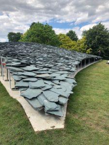 Junya Ishigami designs a giant slate bird for Serpentine Pavilion 2019