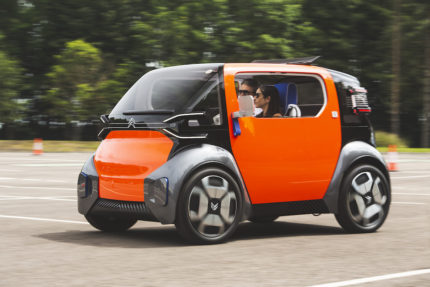 Citroen Ami One provides a new concept for shared transport electric cars