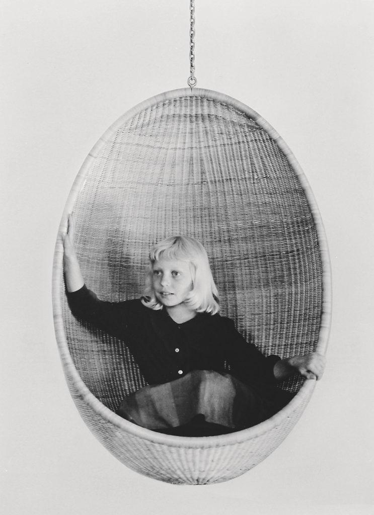 Nana Ditzel, Egg chair 1959 © Alessandro Paderni Courtesy of Doshi Levien