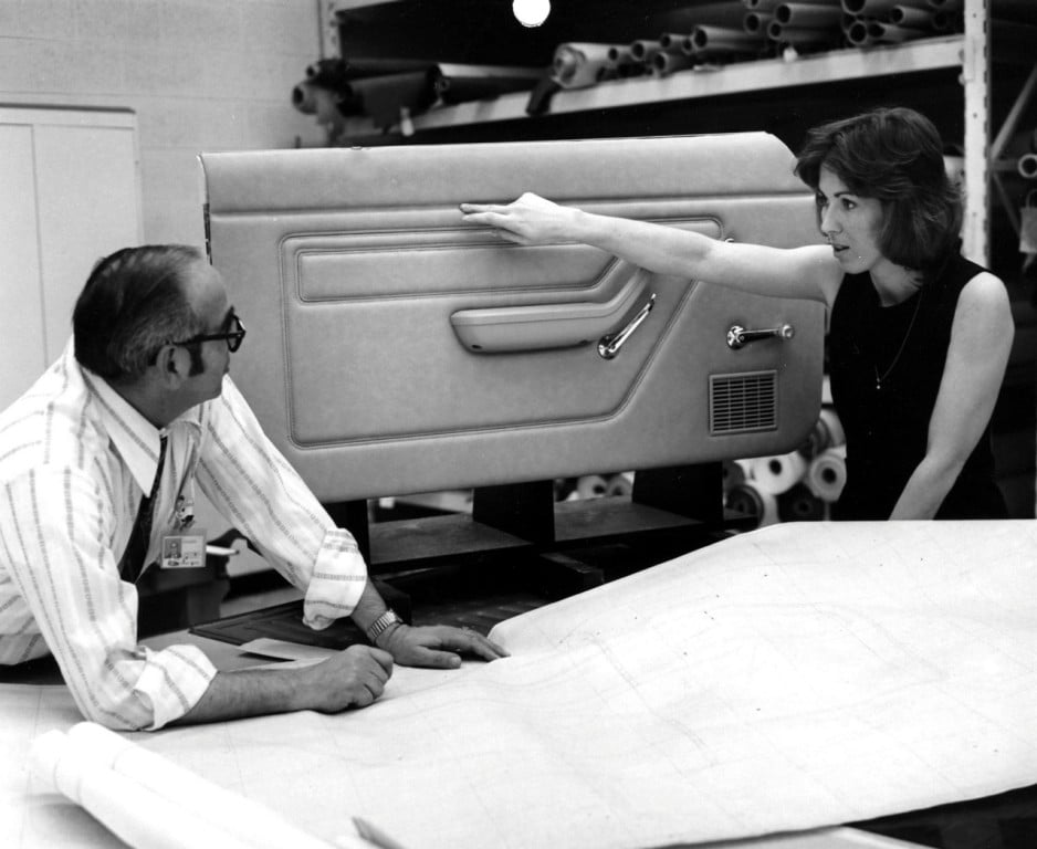 As Ford design manager, in the 1970s and 80s Mimi Vandermolen helped pioneer an ergonomic approach to interior car design such as in the