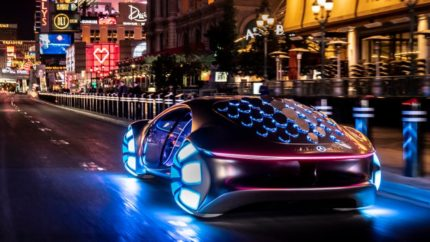 Mercedes Vision AVTR is a vehicle as a living creature