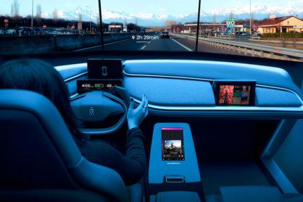 AutonoMIA is a UX demonstrator designed by Pininfarina