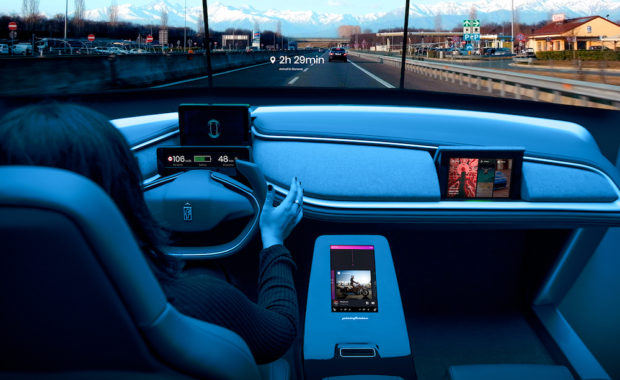 AutonoMIA is a UX demonstrator designed by Pininfarina