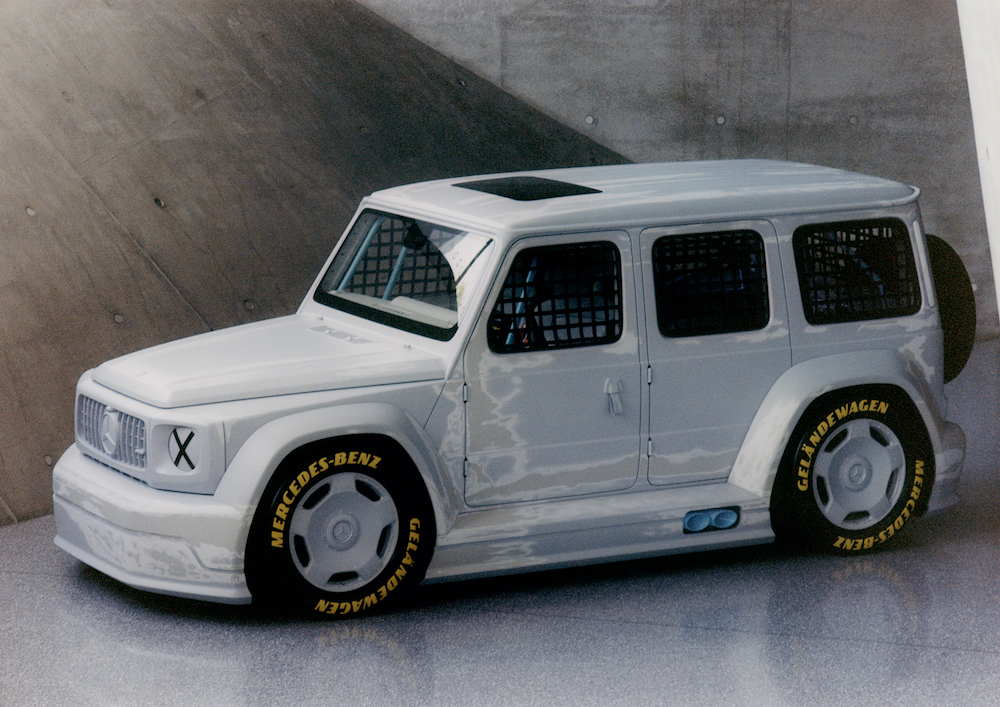 Mercedes-Benz G-Class AMG concept by Virgil Abloh and Gorden Wagener