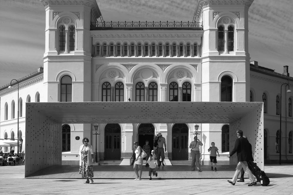 Nobel Peace Centre, Oslo, Norway, 2002- 5. Entrance pavilion and east façade © Tim Soar