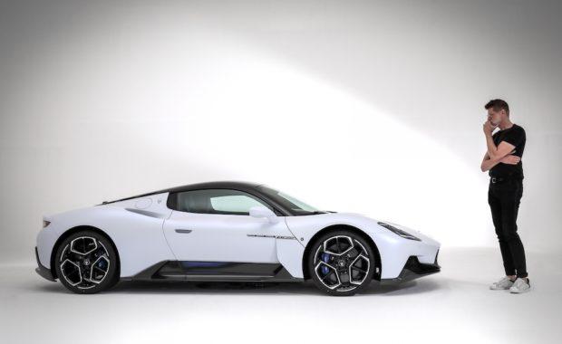 Head of Maserati design Klaus Busse and the MC20